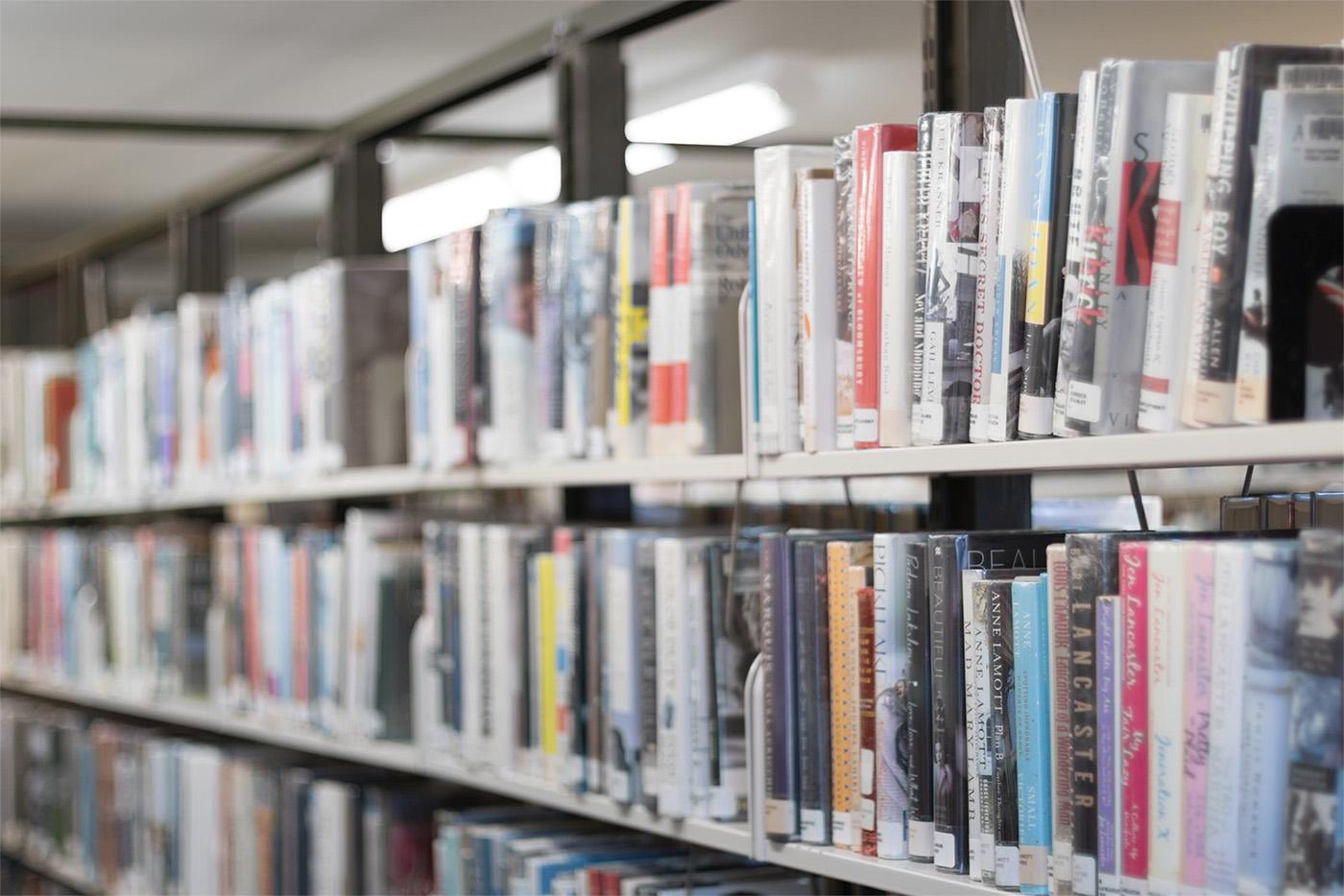 Wij hebben een nieuwe bibliotheek op school